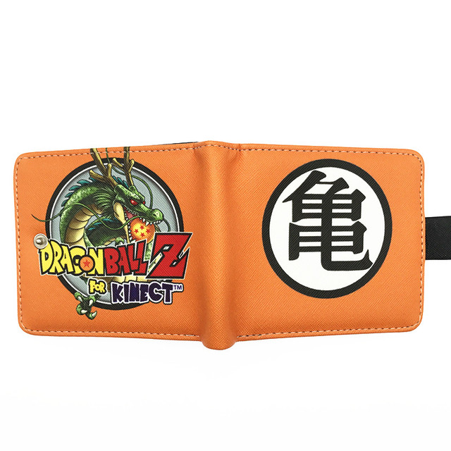 ANDD Portefeuilles homme Portefeuille /étudiant Dragon Ball Goku Anime avec Fermeture /à glissi/ère Longue
