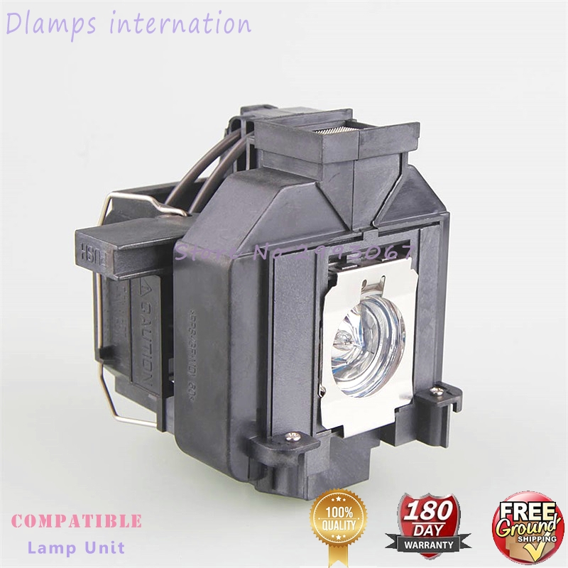 Replacement lamp with housing ELPLP69 V13H010L69 For EPSON EH-TW8000 / TW9000 / TW90000W / TW9100 PowerLite HC5010 Projectors elplp69 v13h010l69 compatible lamp with housing for epso n eh tw8000 tw8100 tw8500c tw851