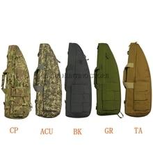 70 см-75 см тактический охотничий страйкбольный карабин сумка Пейнтбольный страйкбольный пистолет сумка чехол охотничий стрелковый винтовочный мешок военный наплечный пистолет сумка