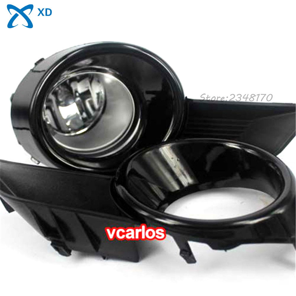 Free Shipping Fog Light set Fog lights Lamp for Toyota HighLander 2008~ON Clear Lens PAIR SET + Wiring Kit new bricks 22001 pirate ship imperial warships model building kits block briks toys gift 1717pcs compatible 10210