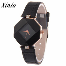 Xiniu Watch Women Fashion Rhinestone Wristwatch Ladies Business Watch Quartz relogios feminino A Gift For Ladies