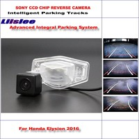 Liislee Reverse Original Back Up Camera For Honda Elysion 2016 Rearview Parking / Dynamic Guidance Tragectory