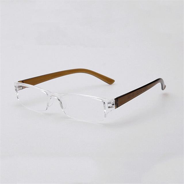 Zilead Ultralight Resin Reading Glasses Eyebrows Presbyopia Glasses Anti-fatigue Clear Lense For Men Women Eyewear 3