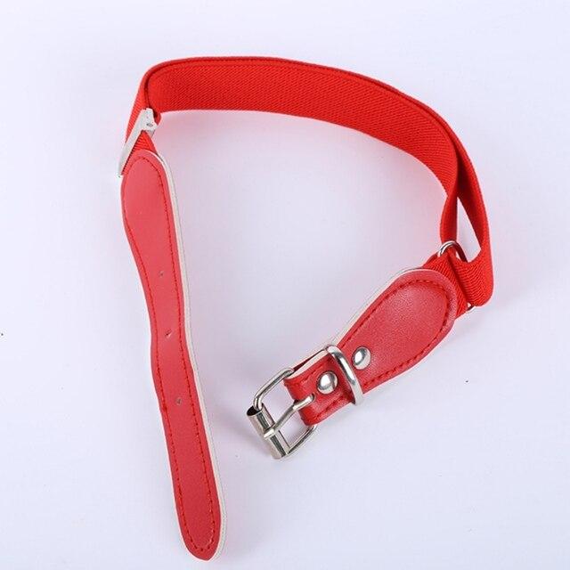 Colorful Elastic Waist Polyester Belt for Kids 6