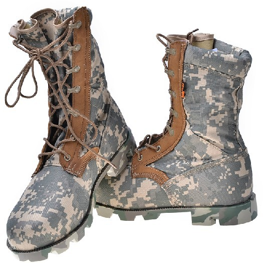 Online Shop ATACS FG Camouflage hunting boots Summer Combat boots ...