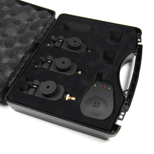 3 + 1 Wireless Bite Alarm Combo Set with Carry Box 3 Bite Indicators with 1 Receiver Bank Carp Fishing Tackles 4 + 1