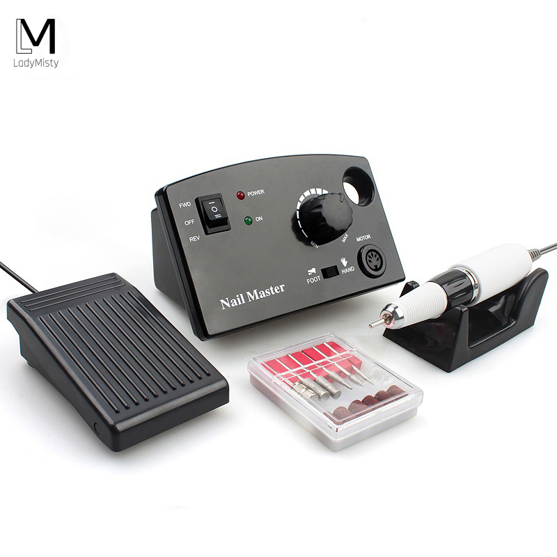 35000RPM 25W Electric Nail Drill Manicure Machine With Manicure Pedicure Set Acrylic Nail Tool For Gel Nail
