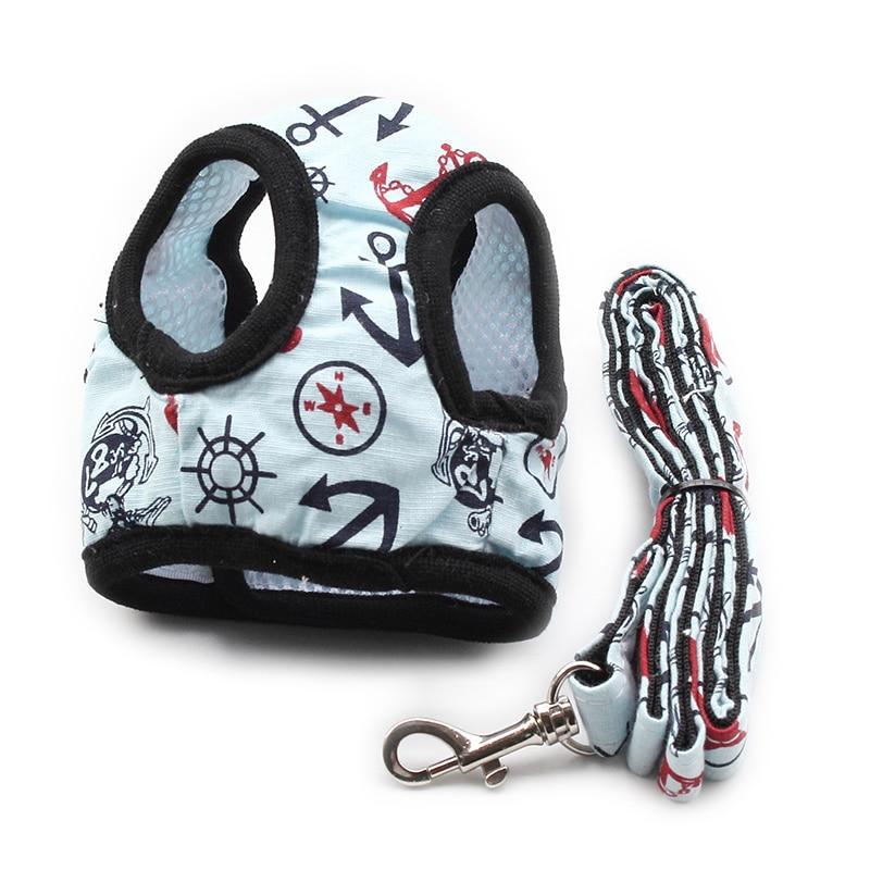 Armi store Comfortable Breathable Cloth Chest Strap Dog Vest Harnesses Lead Dog Harness 6044011 Pet Leash Accessories S M L
