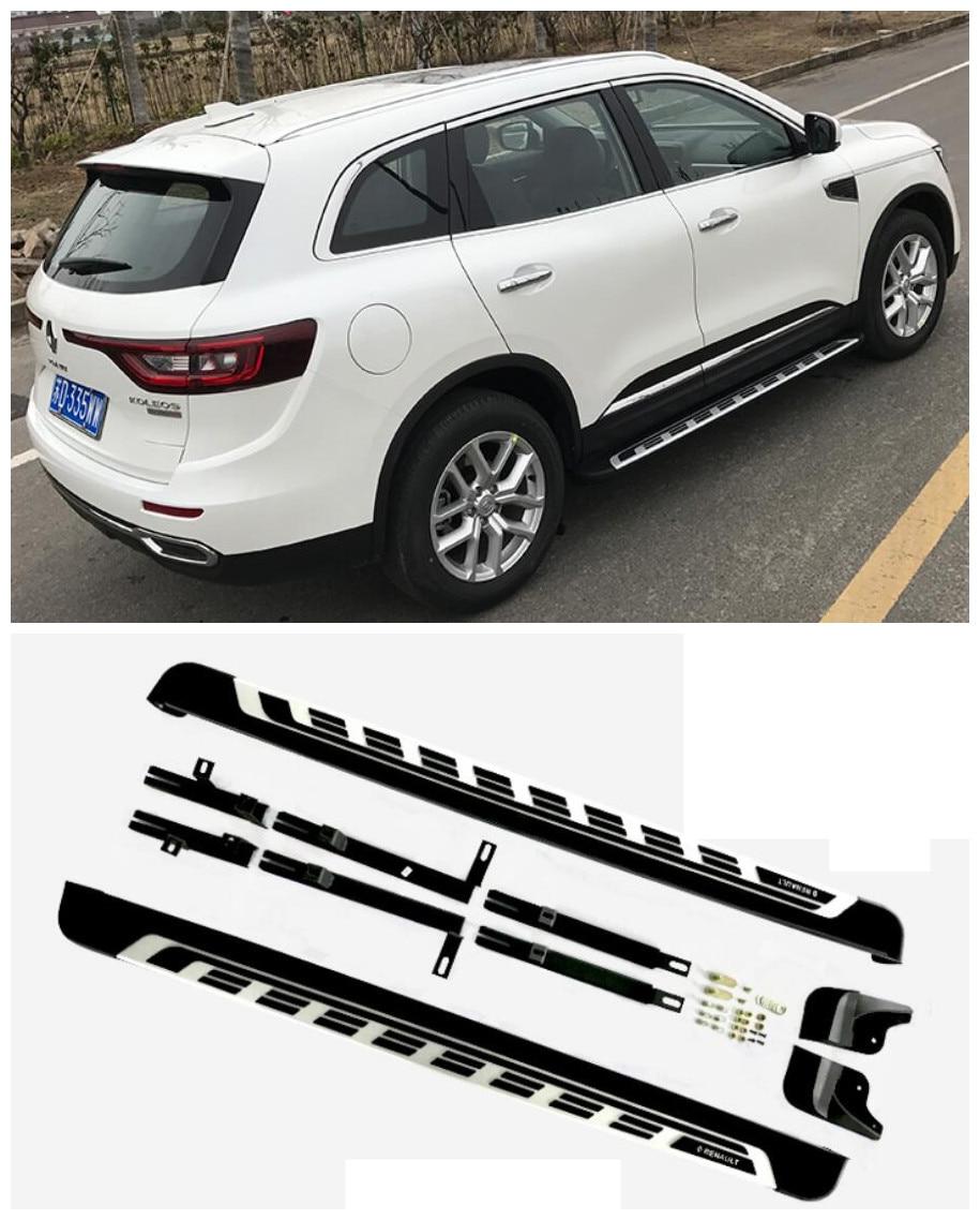 For Renault Koleos 20017.2018 Car Running Boards Auto Side Step Bar Pedals High Quality Brand New Original Design Nerf Bars