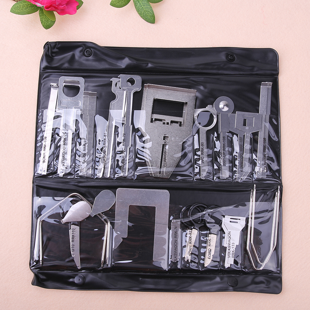 38 Pcs Voertuig Auto Stereo Radio Release Removal Tools Set Sleutels - Gereedschapssets - Foto 5