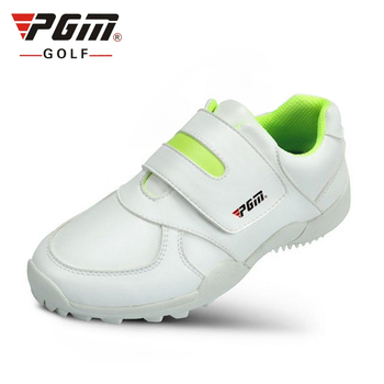 2020 Pgm Golf Shoes Boys Anti-slip Lightweight Training Shoes Girls Breathable Hook Loop Sneakers Kids Outdoor Shoes AA20176