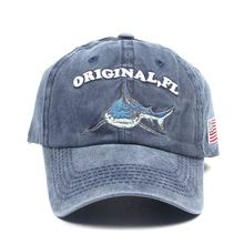 100% Washed Cotton Men Baseball Cap Fitted Snapback Hat For Women Gorras Casual Casquette Embroidery Letter Retro