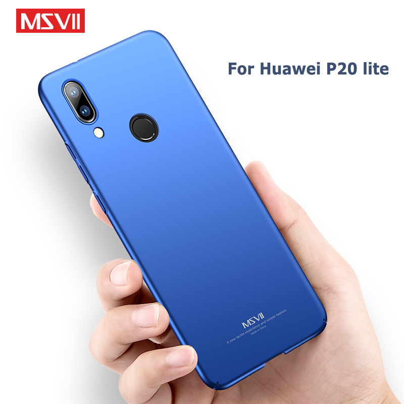MSVII Cases For Huawei P20 Lite Case Cover huawei p20 Pro Coque P 20 Plus Ultra Thin Hard PC Nova 3E