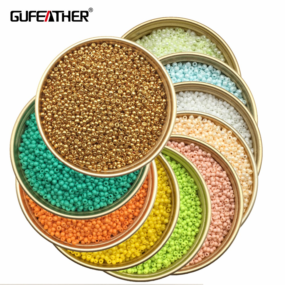 21 Color 2mm 1500pcs 20g diy seed beads/beads for jewelry making/bead for clothing or jewelry design