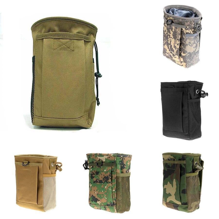 Prix pour Militaire Taille Molle Pack Armes Tactiques Sport En Plein Air Sac de Chasse Pliant Mag Récupération Dump Petite Poche