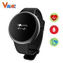 A98 Smart запястье браслет крови Давление кислорода браслет монитор сердечного ритма SmartWatch Водонепроницаемый для IOS Android мужские часы