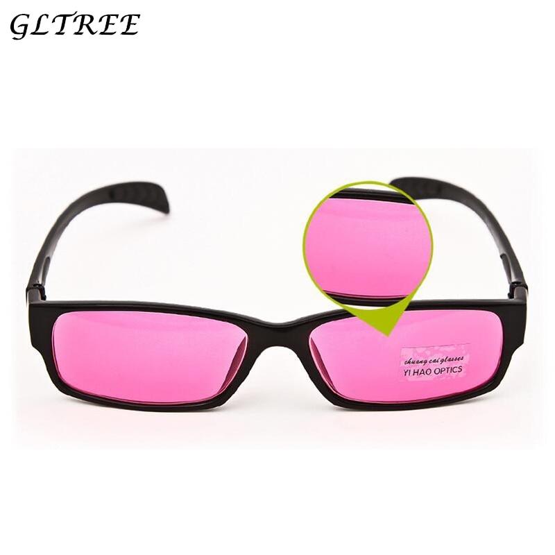 GLTREE 2018 Color-blindness Glasses Corrective Men Color Spectacles Blind Sunglasses Colorblind Driver Eyeglasses G374