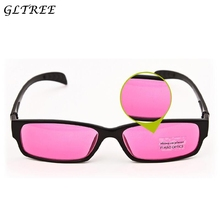 GLTREE 2018 Color-blindness Glasses Corrective Men Color Spectacles Blind Sunglasses Colorblind Driver Eyeglasses G374