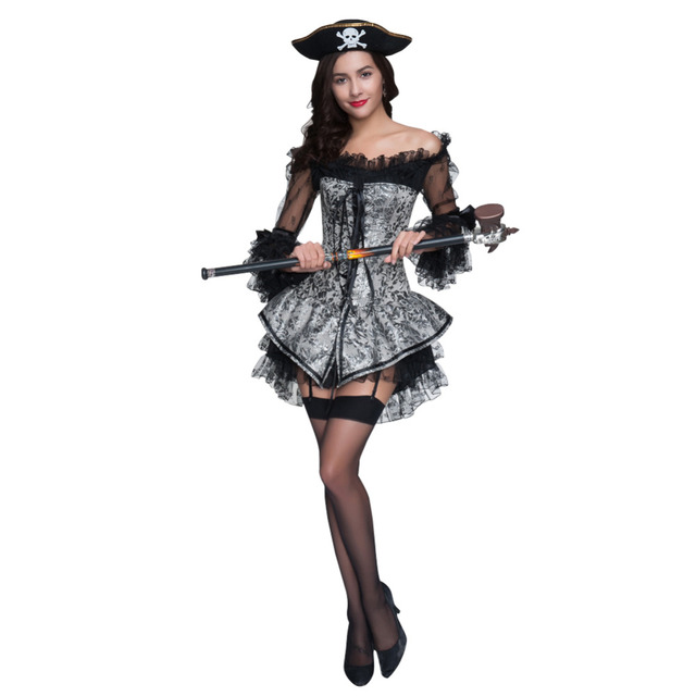 Wonder Beauty Vintage Halloween Costume Retro Gothic Corsets and ...