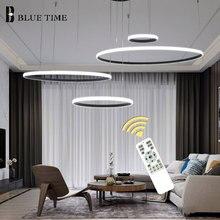 Modern LED Chandelier For Kitchen Living room Bedroom Dining room Led Lustres Rings Ceiling Chandelier Lighting Fixtures
