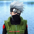 High quality !! Naruto Hatake Kakashi Cosplay Wig Cheap handsome Silver White Short Anime  Synthetic Heat Resistent Wigs + caps