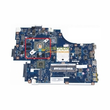NOKOTION NOKOTION MBWVF02001 NEW75 LA-5911P MB. WVF02.001 Para acer aspire 5552G Laptop motherboard Radeon HD 1 GB DDR3