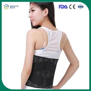 Image 2 - Bel Ortopedik Korse Fıtık Disk Brace Fajas Ortopedicas Alt Sırt Desteği Korse üzerinde Lomber Omurga Sırt Ağrısı Kemeri