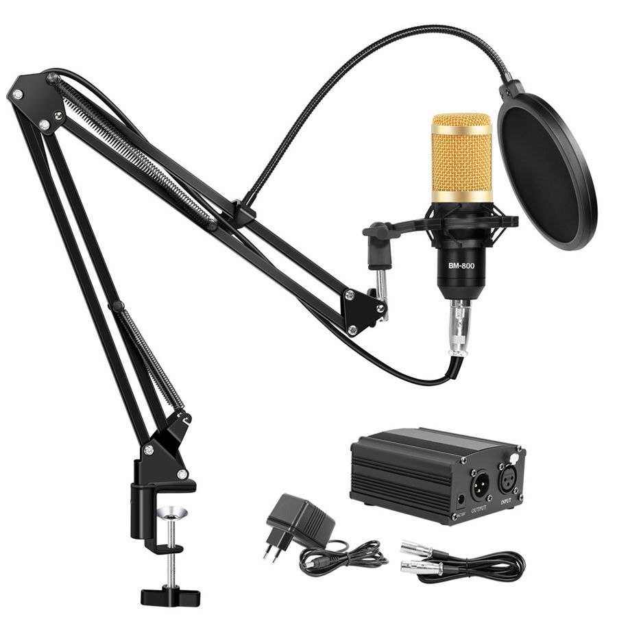 Bm 800 Adjustable Microphone Professional Condenser Microphones for Computer Audio Studio Rrecording karaoke Microphone