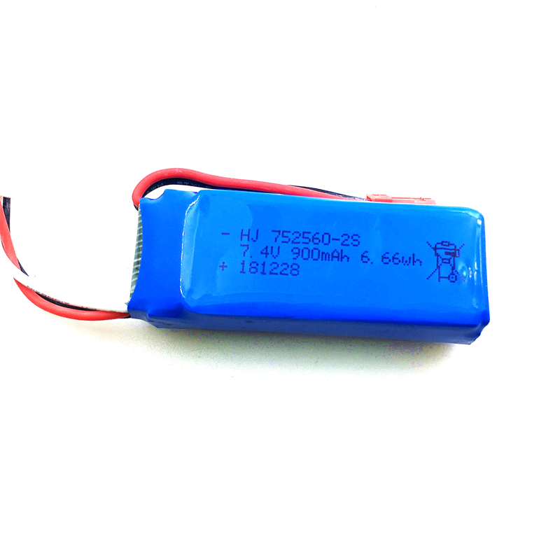 XK X520 <font><b>battery</b></font> <font><b>7.4V</b></font> <font><b>900MAH</b></font> Lipo <font><b>Battery</b></font> for XK X520 <font><b>RC</b></font> Airplane Spare Parts Accessories image