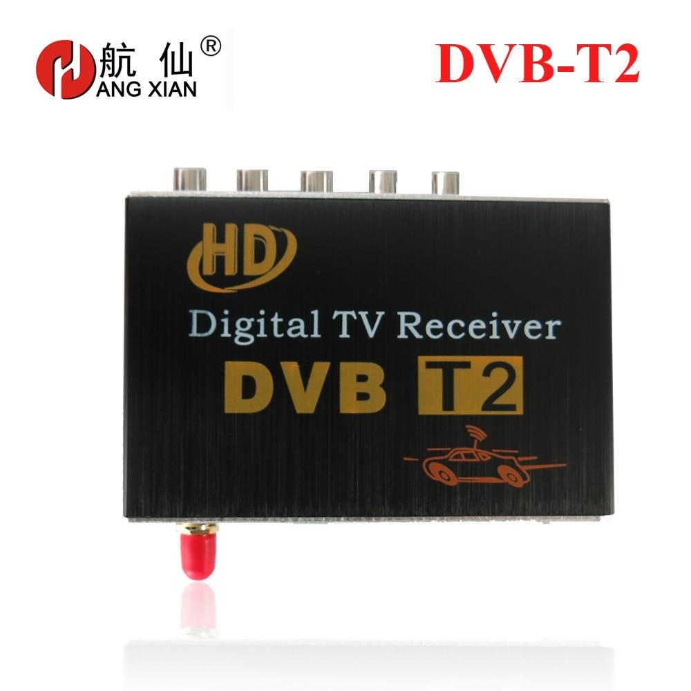 Récepteur de DVB-T2 de voiture pour la colombie russe thaïlande USB DVB-T2 Android TV Tuner voiture numérique Europe avec antenne unique DVB-T2 Auto