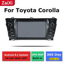 ZaiXi 2Din For Toyota Corolla E140 Sedan 2006~2013 Car Android Radio Multimedia Player GPS Navigation IPS Screen HiFi WiFi for 11 13 e140 toyota corolla s 10