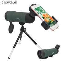 Girlwoman 20x50 Zoom Lens per Smartphone Lente Telescopio Celular Telescopio Del Telefono Mobile Dell'obiettivo di Macchina Fotografica per Il Iphone x 8 più di Huawei