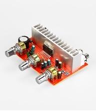 Amplificador de Audio DC 12V TDA7377, PLACA DE POTENCIA ESTÉREO de 2,0 canales, 40w + 40w, RCA, agudos y graves ajustables