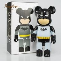 Joyyifor 28CM Anime Bearbricklys Action Figure Cos Superman Batman Joker Orangutan Babybear Doll PVC Collectible Model Toy Gifts