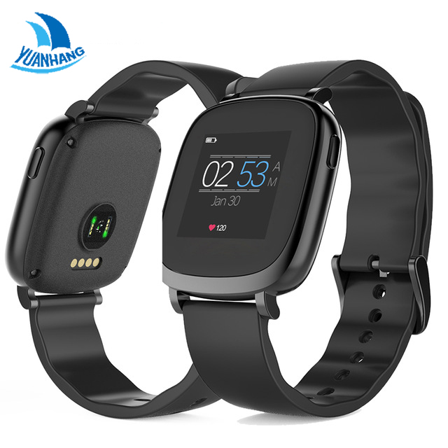 YH Full Color TFT LCD Screen Bluetooth Smart Band For IOS Android Smartphone Support Pedometer Heart