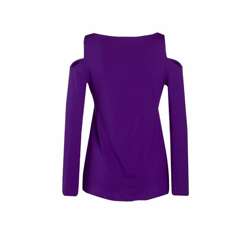 HTB1hNTaPpXXXXa.XXXXq6xXFXXXJ - Women Spring Long Sleeve Off Shoulder V-neck T Shirt