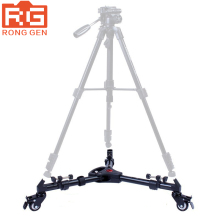 YUNTENG 900 Professional Folding Tripod Dolly For Video Lighting With Three Wheels Tripod RU