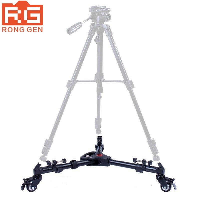 bilder für Yunteng 900 professionelle folding stativ dolly für video beleuchtung mit drei räder stativ ru