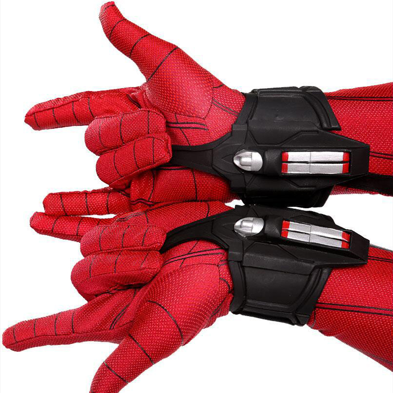 1pair Movie Spider-Man Far From Home Cosplay Prop Peter Parker Spider Web Shooter Decorate Superhero Spiderman
