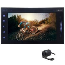 In Dash 6.2″ Capacitive Touch Screen Tablet Car DVD Stereo Video Player Head Unit Bluetooth Multi Language Free Rearview Camera