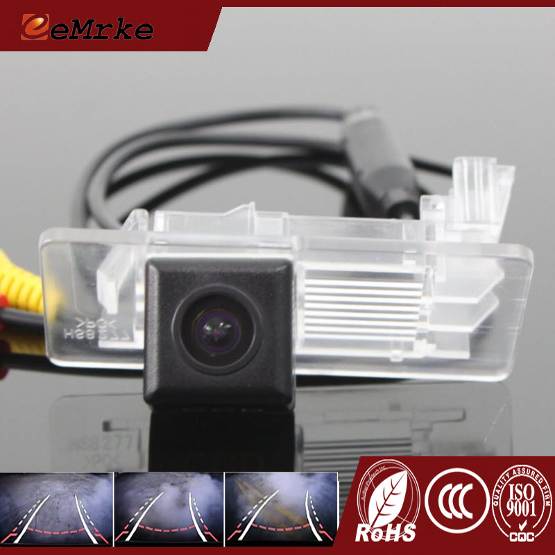 EEMRKE For Skoda Superb Combi / Superb 3T5 2014 Dynamic Trajectory Parking Line Car Rearview Reversing Tracks Camera
