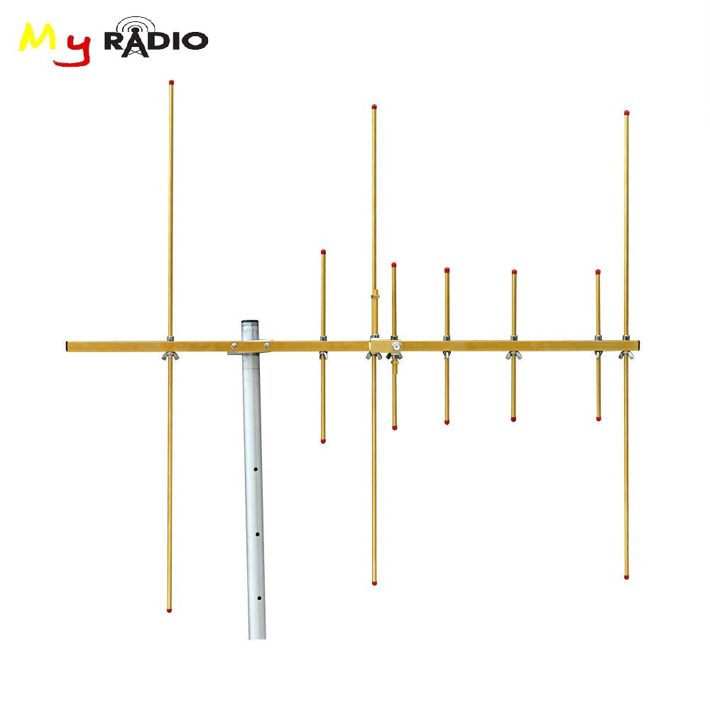 Dual Band 144/430MHz Stainless Yagi Antenna & 8 Elements Radio Repeater Base Station 100W High Gain Antenna