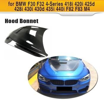 Carbon Fiber Car Racing Hood Bonnet Engine Cover for BMW BMW 3 / 4 Series F30 F32 F82 F83 M4