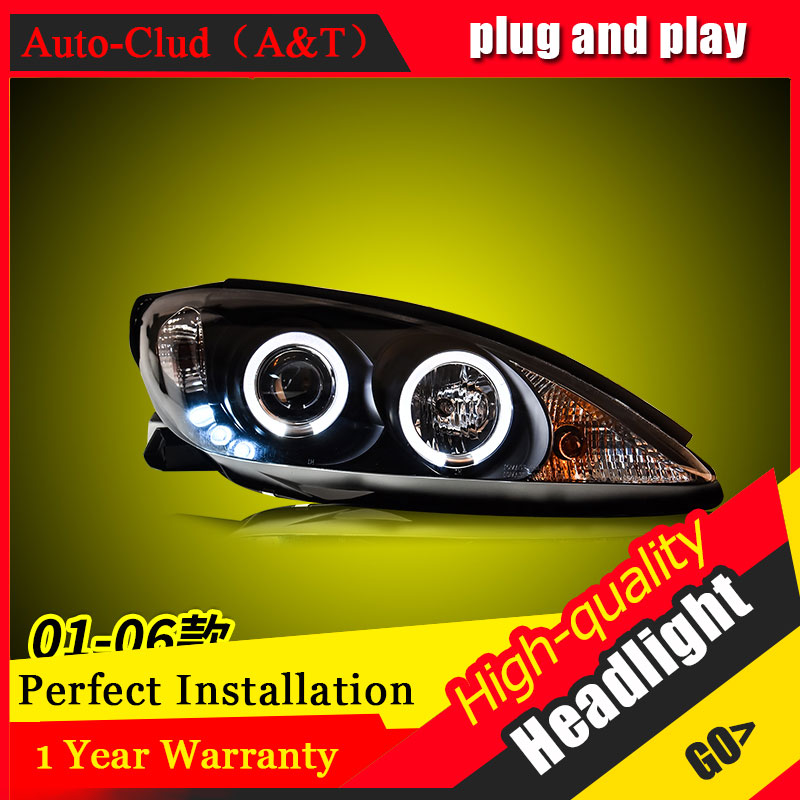 Auto Clud Car Styling For Toyota camry headlights 2001-2006 For camry head lamp led DRL front Bi-Xenon Lens Double Beam HID KIT for toyota camry led headlights car styling 2015 for camry xenon headlights led drl light guide bifocal lens headlight light