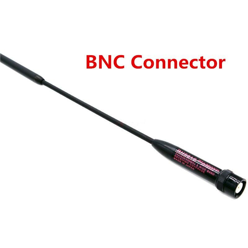 NOUVELLE longue gamme Diamant RH901S Antenne BNC Dual Band 144/430 MHz RH-901S Antenne Pour Radio Bidirectionnelle Moto Icom IC-V85 IC-V82 IC-V80