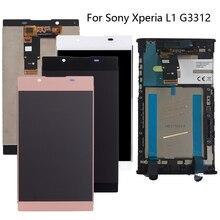 """100% נבדק עבור Sony Xperia L1 G3312 5.5 """"LCD דיגיטלי ממיר רכיב עבור SONY Xperia L1 ערכת החלפת תצוגה + כלים"""
