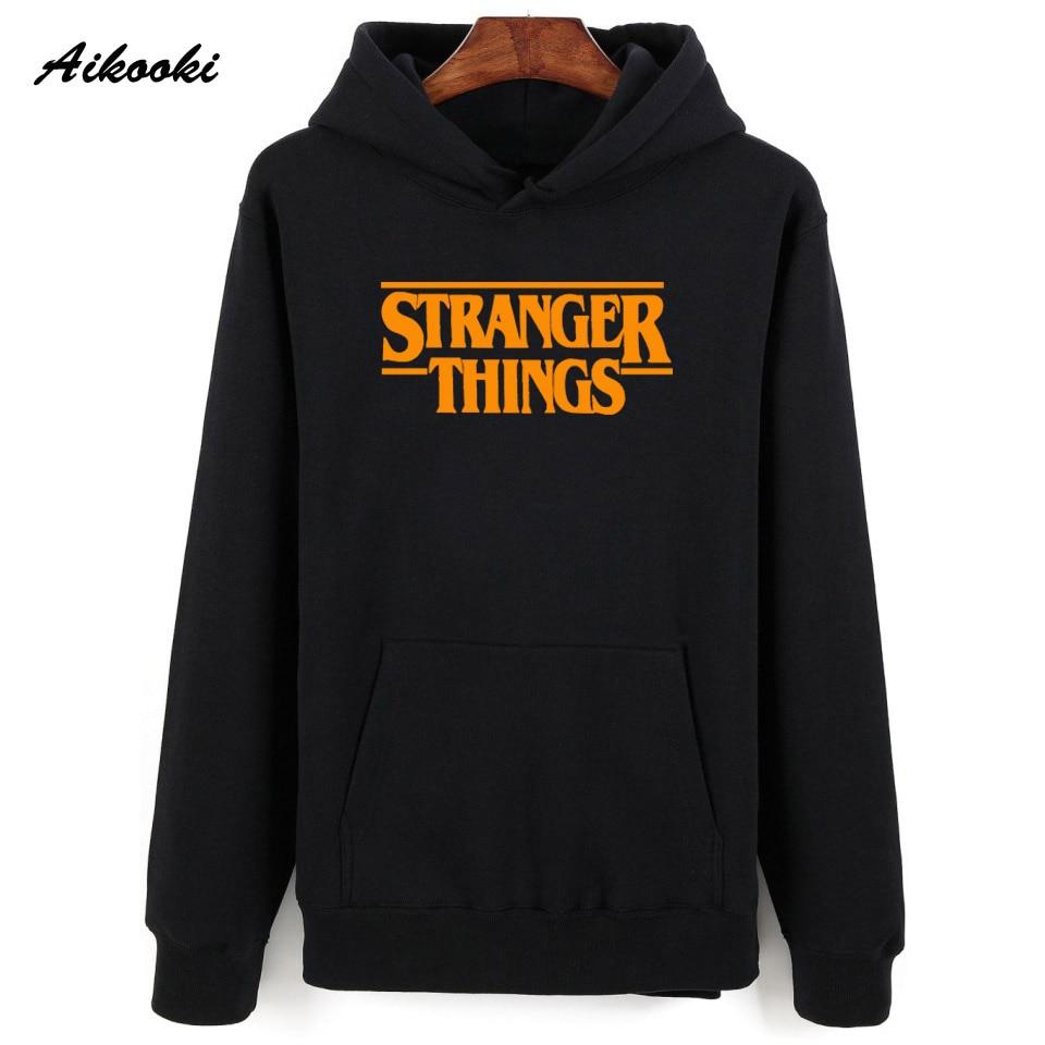 Hoodie Stranger Things Hoodies Sweatshirt women/men Casual Stranger Things Sweatshirts Women Hoodie Men's 42