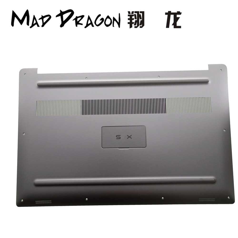 MAD DRAGON Brand Laptop NEW silver white Bottom Base Bottom Cover band Nameplate assy for Dell XPS15 XPS 15 9570 - 0GHG50 GHG50MAD DRAGON Brand Laptop NEW silver white Bottom Base Bottom Cover band Nameplate assy for Dell XPS15 XPS 15 9570 - 0GHG50 GHG50