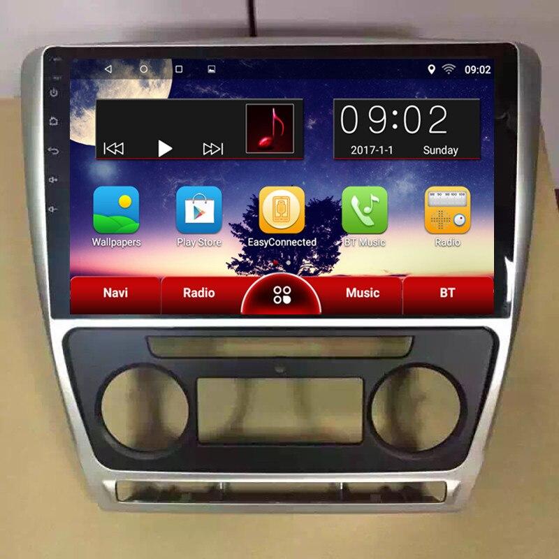 ChoGath 10.2 дюймов чистый Android 6.0 GPS навигации для Шкода Октавия 2007 2008 2009 2010 2011 2012 2013 автомобильный радиоприемник Bluetooth беспроводной доступ в интернет