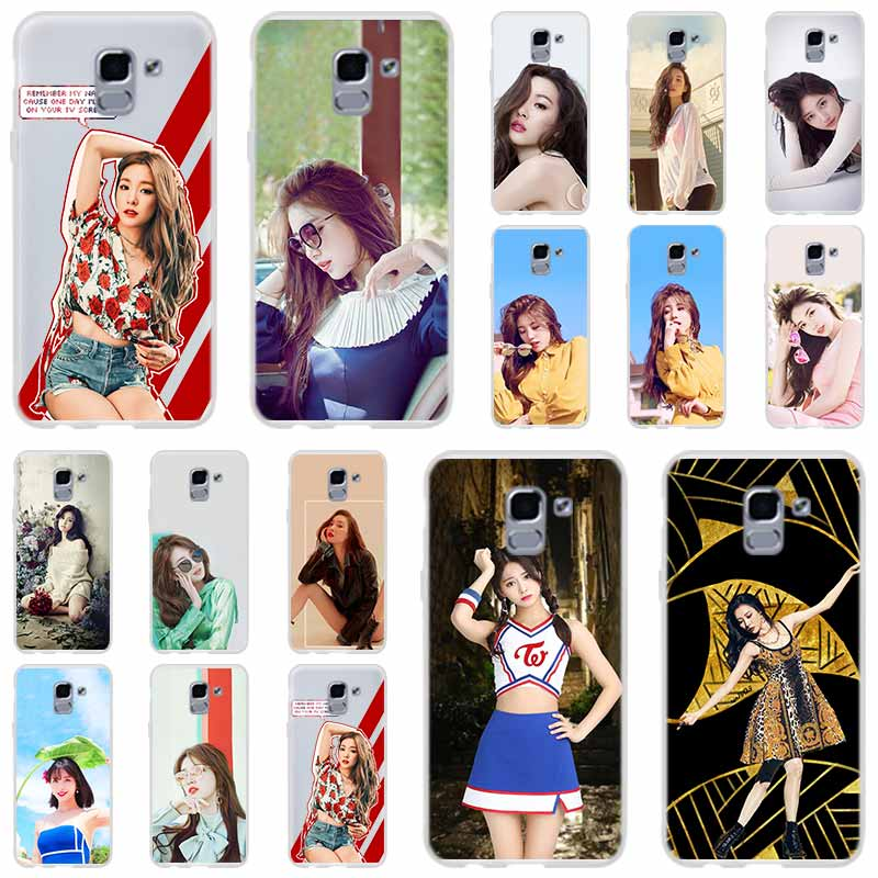 Lee Sun Mi Sunmi <font><b>kpop</b></font> For Phone Case <font><b>Samsung</b></font> Galaxy <font><b>j6</b></font> J8 J7 J5 J3 J4 <font><b>Plus</b></font> 2018 2017 2016 J610 Prime Soft Silicone <font><b>Coque</b></font> image